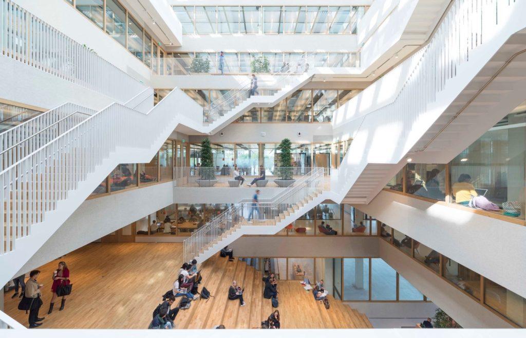 Centre médical Erasmus pour modélisation du décor BIM