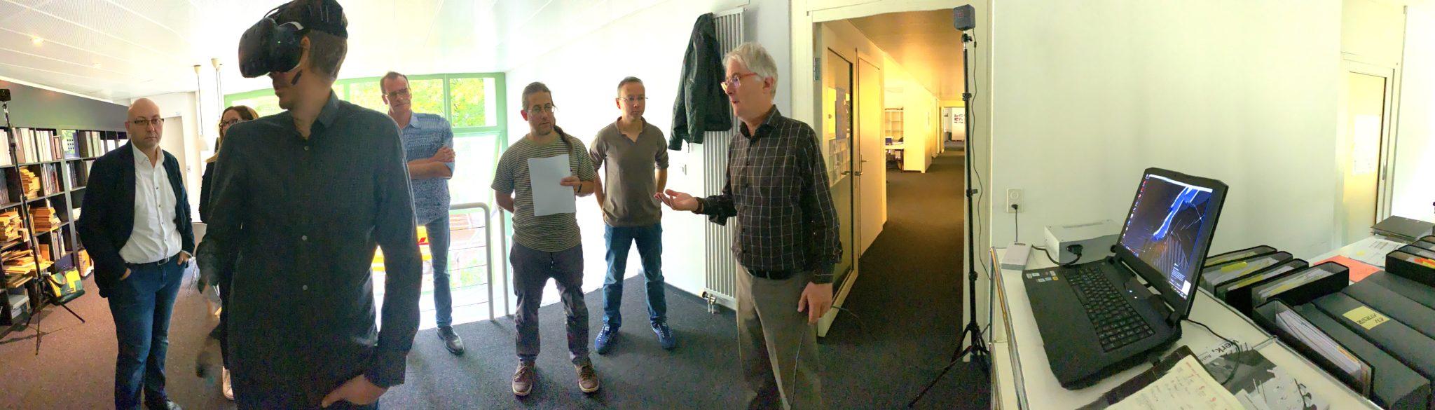 Démonstration Atelier Services chez Architram Lausanne