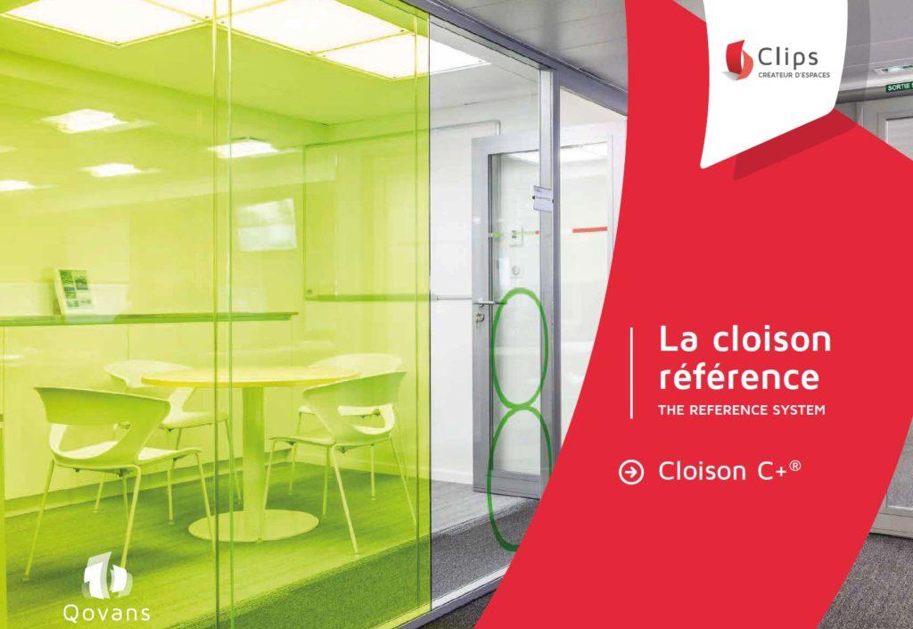 Couverture Brochure Cloison C+ de Qovans